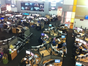 9-1-1 call center floor