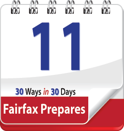 Know About New Wireless Alerts: Fairfax Prepares Day 11 | Fairfax