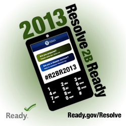 Resolve to be Ready in 2013