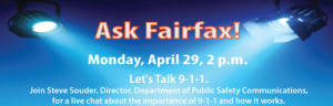 Ask Fairfax online chat -- 9-1-1 in Fairfax County