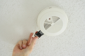 Be sure to install smoke alarms on every