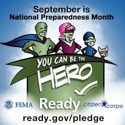 National Preparedness Month 2013