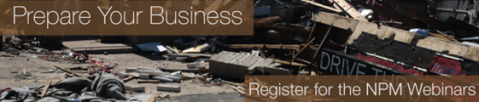 national preparedness month business webinars
