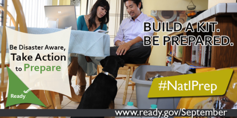 National Preparedness Month - pet preparedness