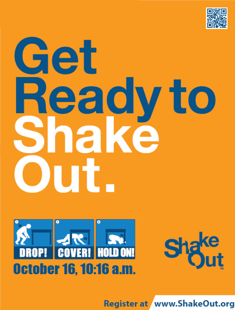 Great Southeast ShakeOut Oct 16, 2014