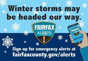 Winter Storms Fairfax Alerts