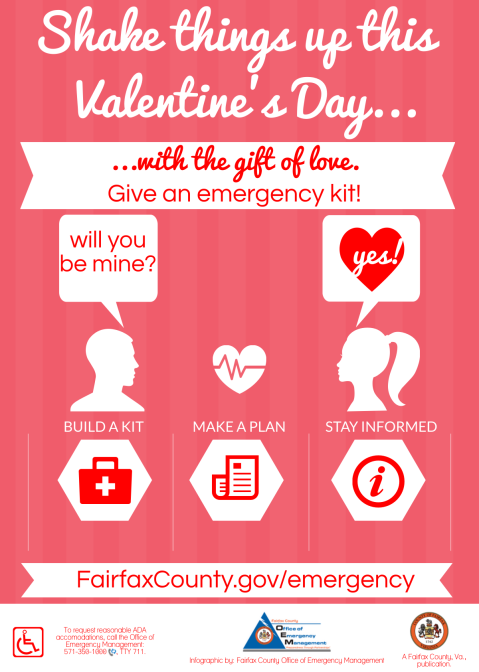 Emergency Preparedness Gifts for Valentine's Day