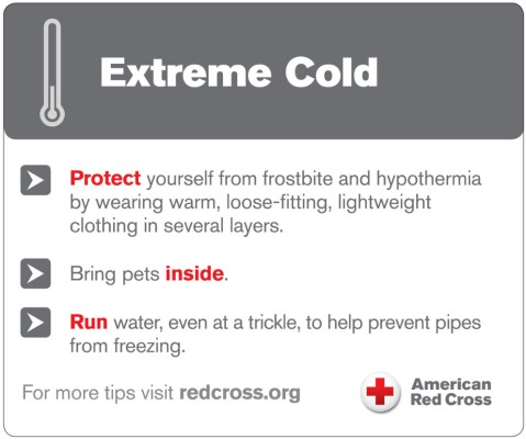 Winter Weather Safety Tips from the Red Cross | Fairfax