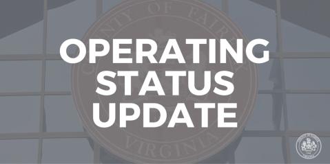 operating status update