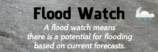 Flood Watch for Fairfax County, Va.