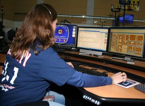 9-1-1 operator female
