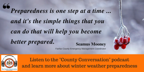 Listen to OEM Coordinator Seamus Mooney on the County Conversation podcast