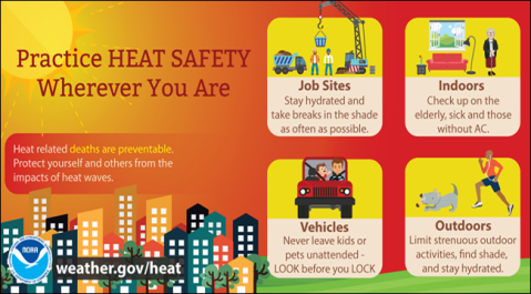heat safety for people and pets