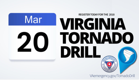 2018 Virginia Tornado Drill