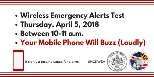 Wireless Emergency Alerts (WEA) Test