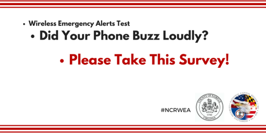 Wireless Emergency Alerts (WEA) survey
