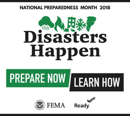 National Preparedness Month 2018