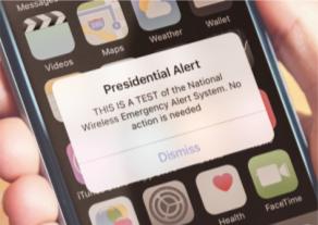 Wireless Emergency Alerts (WEA) national test Sept. 20, 2018