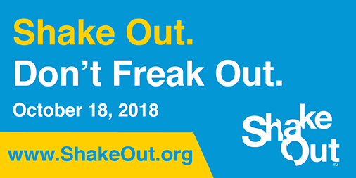 Great Southeast Shakeout Earthquake Drill 2018