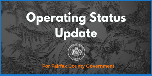 Fairfax County Government Operating Status