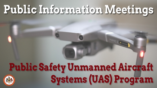 Fairfax County UAS public meetings