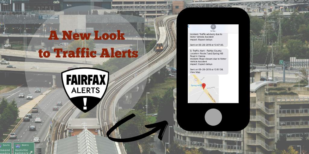 A New Look for Fairfax Alerts Traffic Alerts | Fairfax